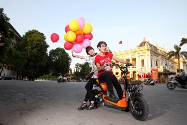 Xe đạp điện Giant M133P có nhiều lựa chọn màu sắc trẻ trung