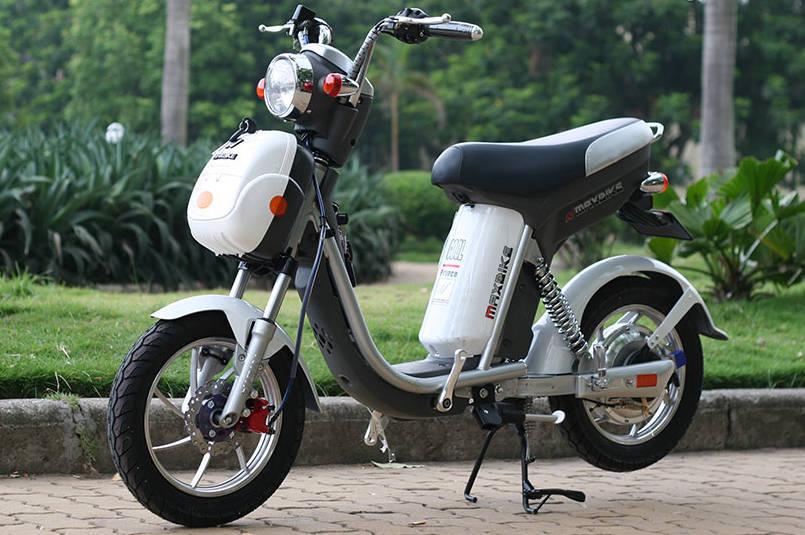 Xe điện MaxBike mới nhất vẫn giữ được kiểu dáng so với phiên bản Nijia cũ
