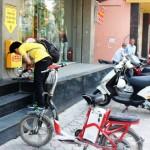 Sạc xe đạp điện miễn phí tại Hà Nội