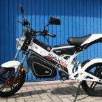 Tìm hiểu xe máy điện MadAss có thể gấp gọn